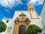 Private secured neighborhood of Marbella Real
