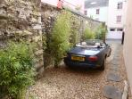 Private parking/Drive to front door
