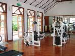 A well equipped gym if you like to work out on your holiday