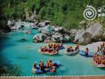 Rafting Fun on the Soca river