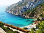 La Granadella,  gorgeous beach very close to Villa Muntalmar, perfect for snorkeling.