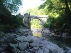 The Devils Bridge - a great fishing spot nearby
