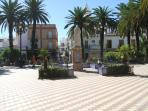 Ayamonte town square