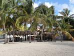Restaurant de plage de la résidence