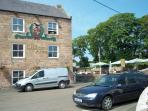 The Craster Arms which has a beer garden