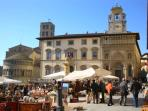 The Arezzo antiques market