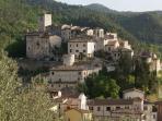 Landscape of Arrone Village