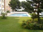 Beautifully maintained gardens and large swimming pool