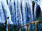 Around Arrone a lot of magic places to visit... (here Marmore Falls)