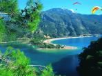 We are 17 km to Ölüdeniz best beach of the TURKEY