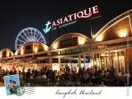 ASIATIQUE can be reach directly from Siphaya pier in front of P&R RESIDENCE