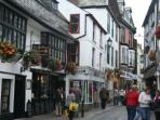 Fore Street in East Looe is full of small independent shops.