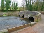Ashford in the Water Bridge