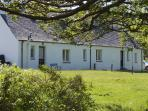 East Bothy on the left sleeps 4 and West Bothy on the right sleeps 6 comfortably