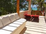 Master bedroom side veranda,pergola ,open ski