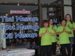 Our massage staff are always availble to massage that tension away