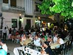 Cyprus Night in the village square