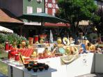 Potters fair, Mirepoix, every August