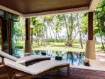 Villa on the beach in Krabi