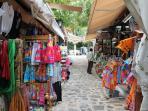 Street market Zia