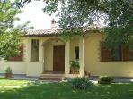 Charming Cottage Near Cortona, Garden, AC,WiFI