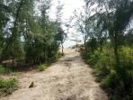 Path to An Bang Beach