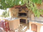 Villa Anna summer kitchen and barbeque house