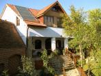 Casa Crina, garden view (Casa Vale, Sibiu, Transylvania, Romania)