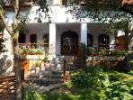 Casa Crina, terrace (Casa Vale, Sibiu, Transylvania, Romania)
