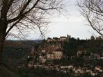 Nearby attraction the village of Rocamadour
