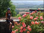 There are countless exciting road and mountain bike rides in the area