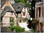 The beautiful and historical town of Conques - a 20 min drive