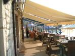 Beach front restaurant in Przno