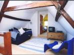 Attic Floor sitting area and Single Bedroom 3