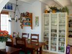 Dining area. SA PUNTA COSTA BRAVA