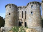 The mediaeval fortress at Tonquedec