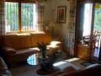 Living room and terrace. SA PUNTA COSTA BRAVA