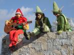 Christmas fun at the Villa Natal