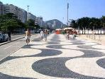 Copacabana boadwalk