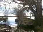 Lough Derg, just a kilometre away
