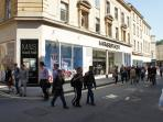 M&S Food Hall and Main Shopping Street- 2 Minutes Walk