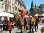 Domfront's medieval festival
