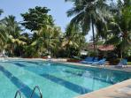 Larger of the two swimming pools at Luisa By The Sea complex