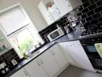 Fully equipped Kitchen - overlooking Harrogate Conference Centre
