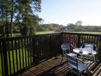Sit on your own private Balcony relaxing and enjoy panoramic views of the wonderful country side.