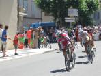 Le Tour De France passed along the D12  in 2012........come on Chris!