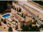 Aerial View of Villa Roca al Mar