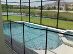 Pool / Spa view