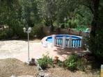 zwembadje voor `t huisje