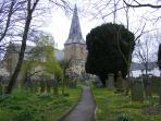 Braunton's 13th century parish  church - St Brannocks